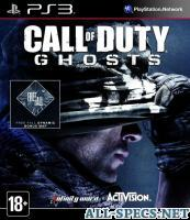 ActiVision игра call of duty: ghosts ps3, русская версия 11017