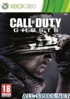 ActiVision игра call of duty: ghosts free fall ed xbox 360, русская версия 110124