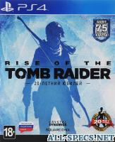 CRYSTAL DYNAMICS rise of the tomb raider. 20-летний юбилей ps4 11017