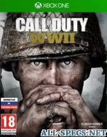 ActiVision игра call of duty: wwii xbox one, русская версия 110128