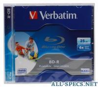 Verbatim BD-R 25Gb 6x Jewel Ink Print 580643